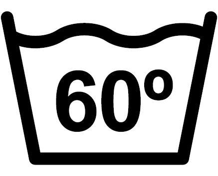 60° Normalwaschgang