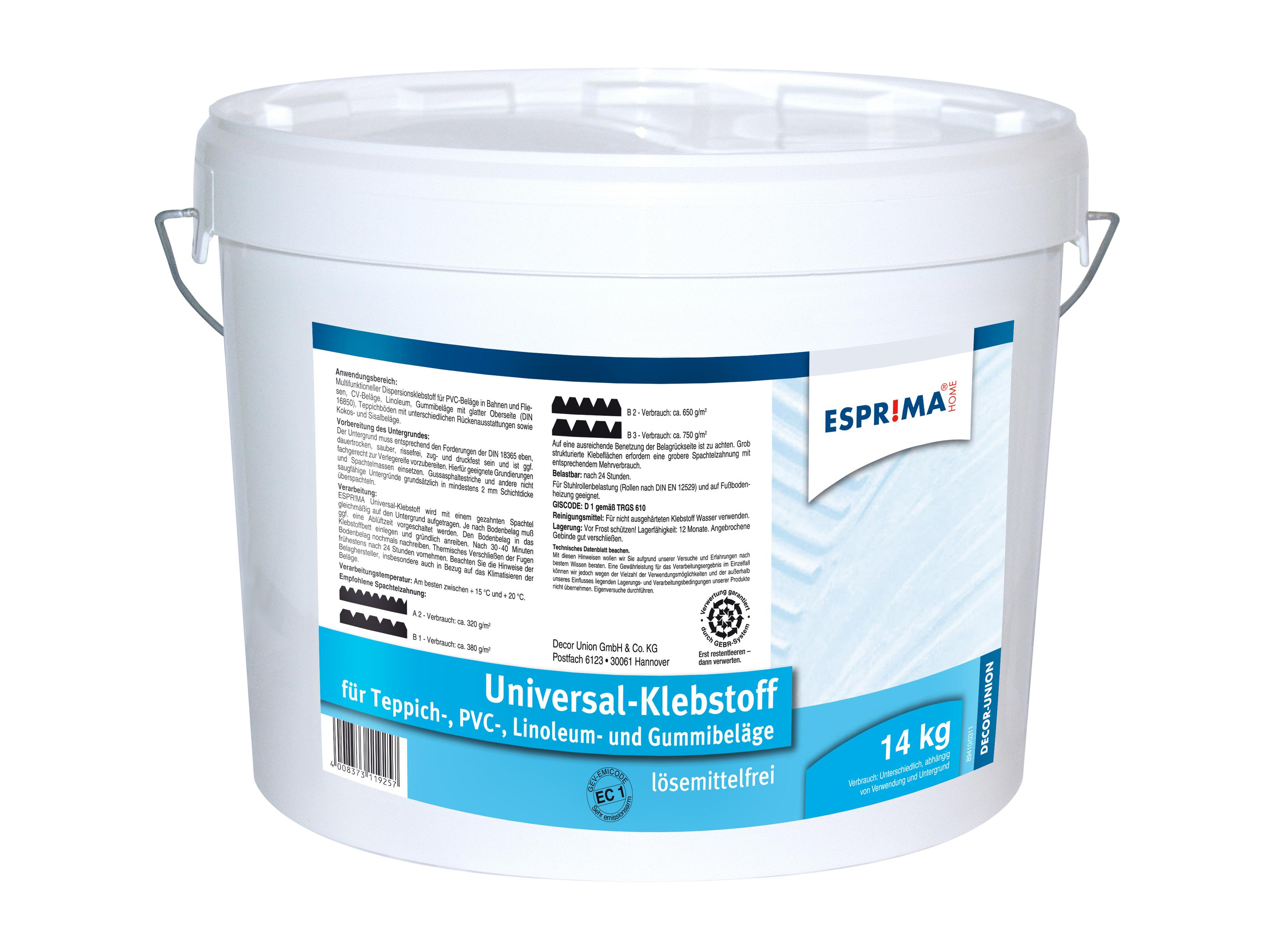 Bodenklebstoffe - Universal-Klebstoff