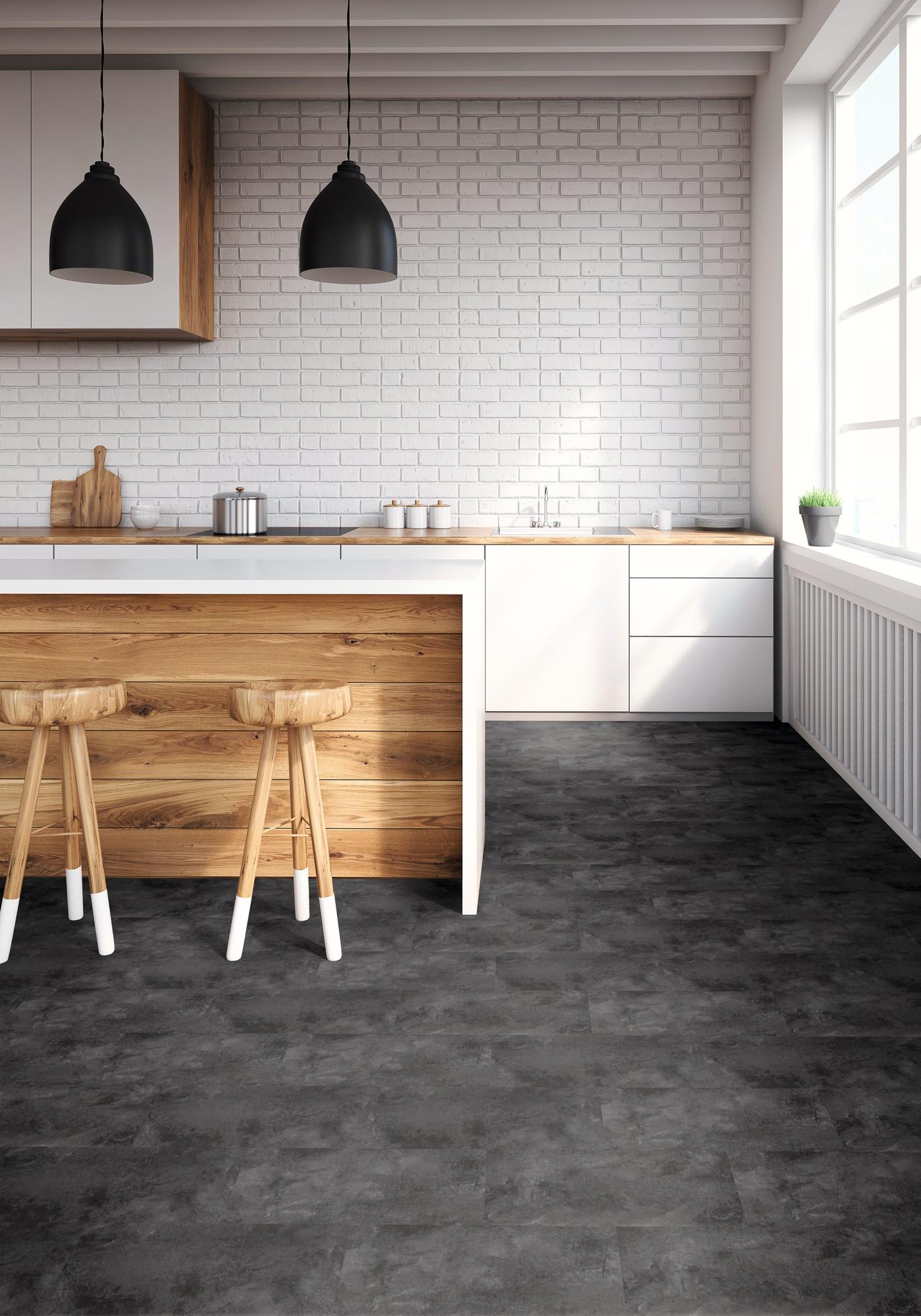 Designboden - Home 0,3 Fliese kleben 2