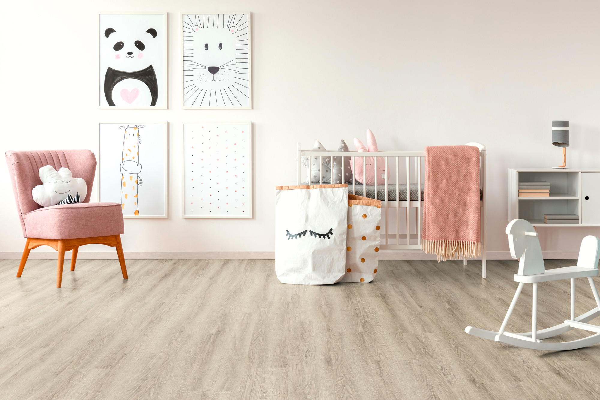 Designboden - Home 0,3 Planke kleben