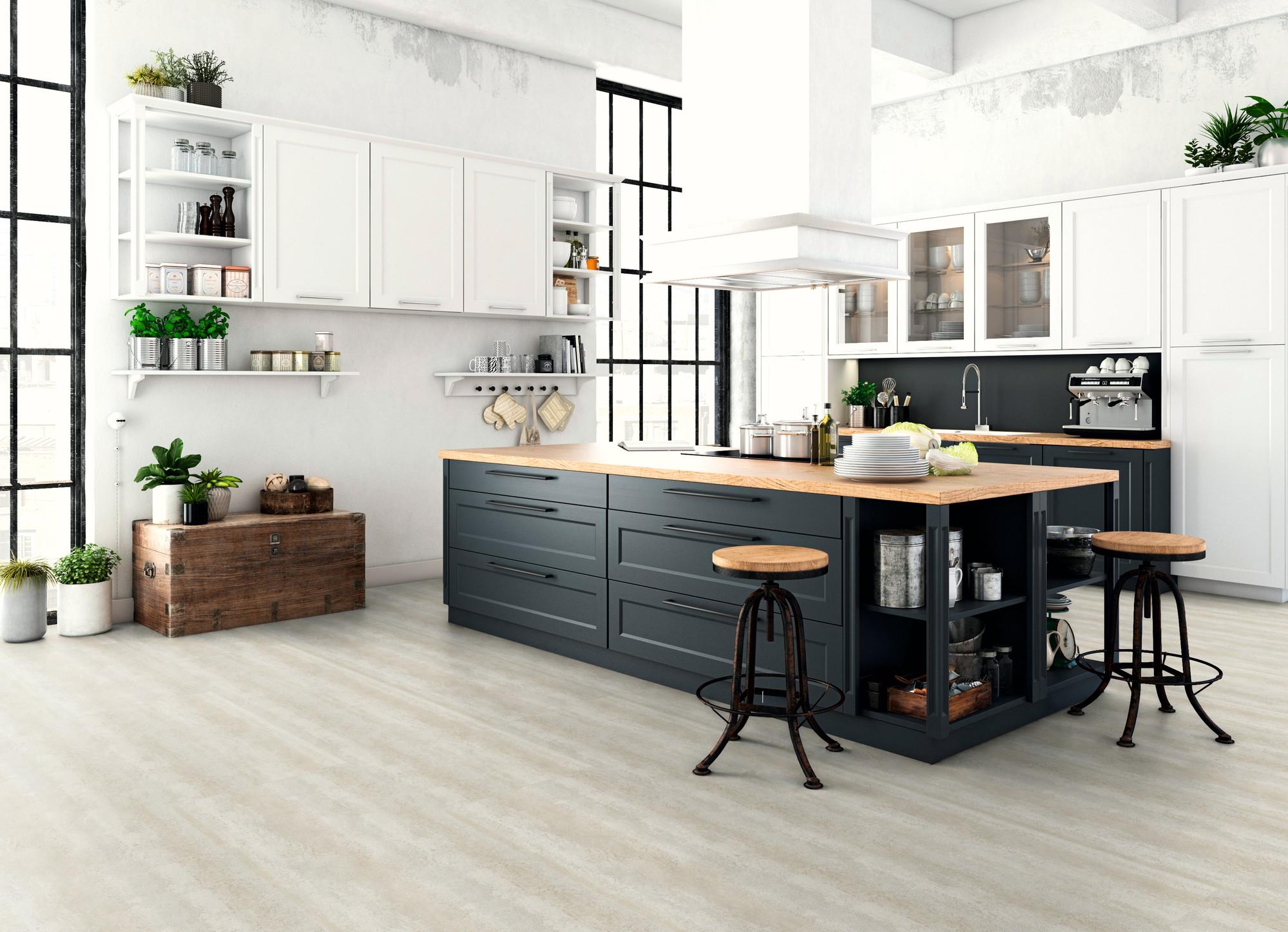 Designboden - Home 0,3 Fliese kleben 1