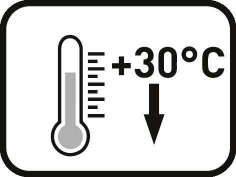 Verarbeitung nicht über 30°
